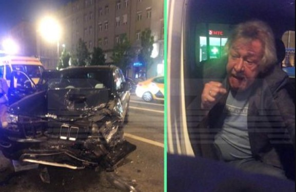 Актер Михаил Ефремов в состоянии алкогольного опьянения стал виновником ДТП