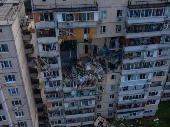 Поврежденный взрывом дом на Позняках в Киеве полностью демонтируют - Кличко