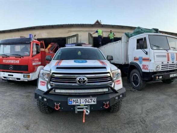 Молдова предоставила Украине гуманитарную помощь на 40 тыс. евро на преодоление последствий паводков