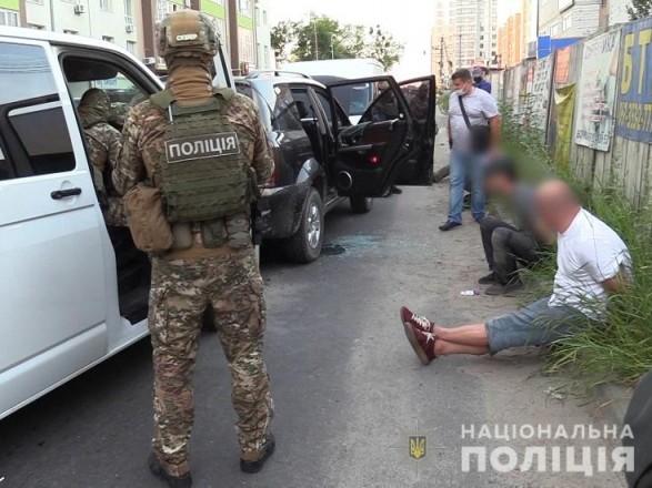В Киеве во время спецоперации задержали банду за разбойные нападения на дома граждан