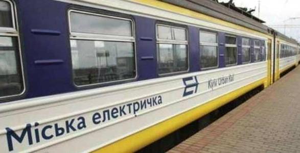 Сегодня в Киеве восстанавливается кольцевое движение городской электрички