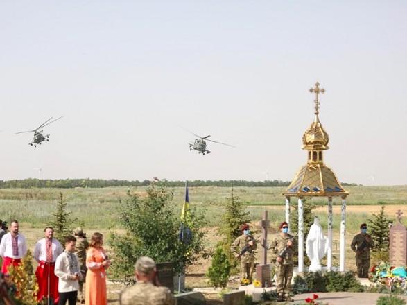 Послы четырех стран ЕС на горе Карачун почтили память освободителей Славянска