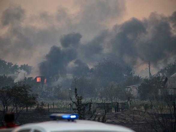 Полиция Луганской области подтвердила гибель 3-х человек в результате лесного пожара