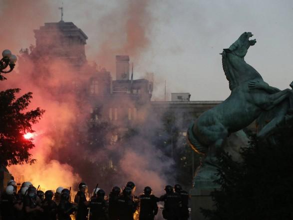 Украина никоим образом не причастна к протестам в Сербии - Посольство в Белграде