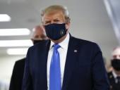 Трамп вперше з початку пандемії вдягнув маску на публіці