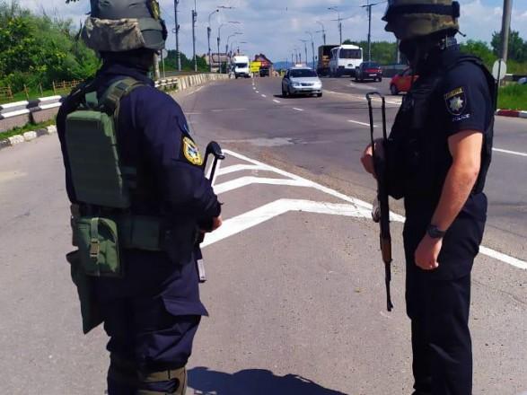 Полиция и Нацгвардия усилили меры безопасности в девяти регионах Украины