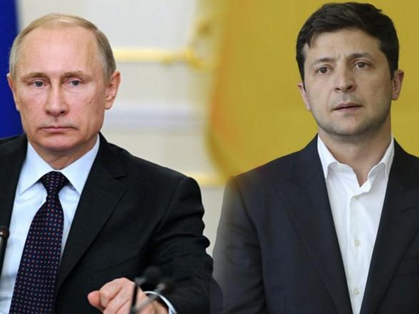 Разговор с Зеленским: Путин обеспокоен заявлениями украинских чиновников о необходимости пересмотра минских соглашений