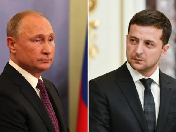 Путин заявил Зеленскому, что постановление ВР о местных выборах противоречит минским соглашениям - Кремль