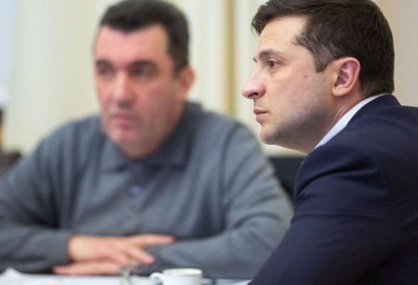 Зеленский действует по одному из пяти планов относительно перемирия на Донбассе - СНБО