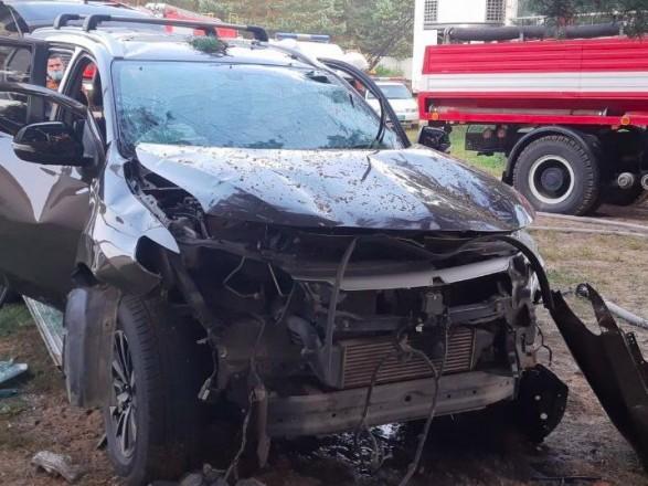 Стали известны детали взрыва авто во Львовской области