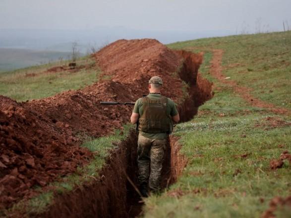 ООС: несмотря на режим тишины - боевики совершили один обстрел украинских военных