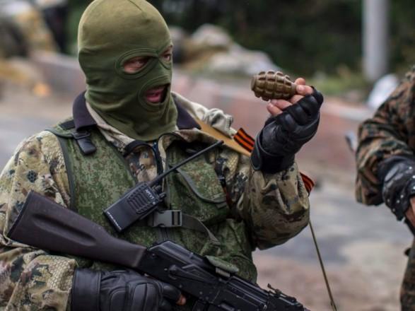 Боевики проводят ротацию своих подразделений вблизи линии соприкосновения - разведка