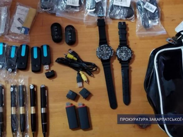 Под видом часов и флешек в Украину пытались ввезти средства для скрытой слежки