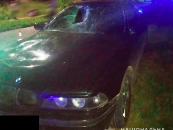 """В Здолбунове легковушка BMW сбила малолетнюю велосипедистку, девочка умерла в """"скорой"""""""