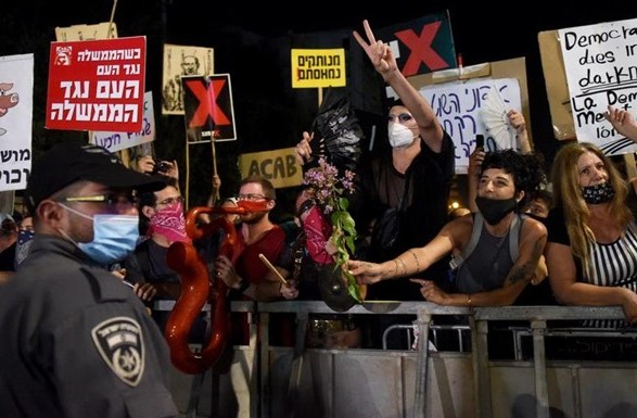 В Израиле продолжаются протесты против премьера Нетаньяху