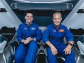 Астронавти Херлі та Бенкен подякували екіпажу МКС та Ілону Маску