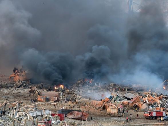 Взрыв в Ливане: его было слышно на Кипре, также частично разрушено кипрское посольство в Бейруте