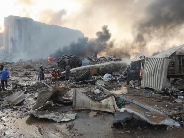 Взрыв в Ливане: сейсмологи Иордании заявили, что взрыв был равнозначным землетрясению почти в 5 баллов