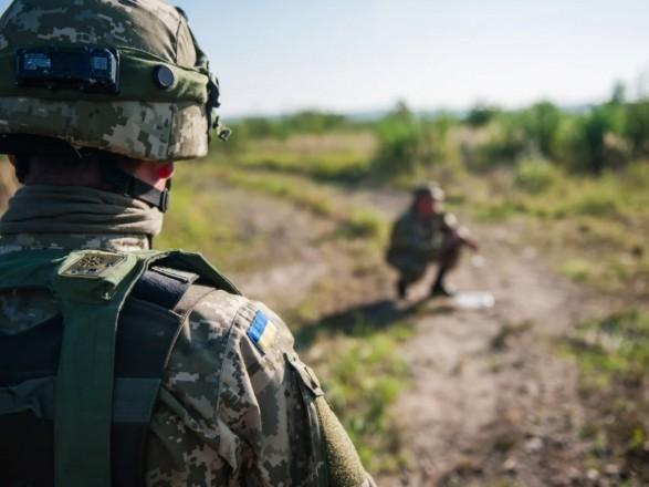 ООС: с начала суток боевики один раз прибегли к огневой провокации