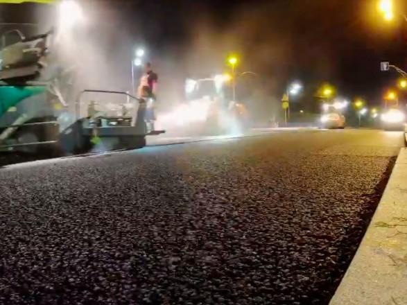 К концу недели в столице планируют восстановить проспект Любомира Гузара