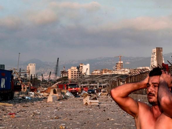 Взрыв в Ливане: миротворцы ООН получили ранения, находясь на корабле командования неподалеку взрыва