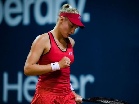 Теннисистка Ястремская пробилась в четвертьфинал первых соревнований WTA после карантина