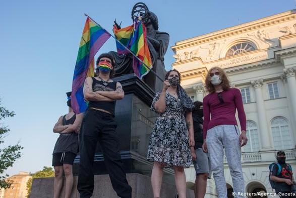 Полиция Варшавы задержала 48 человек во время ЛГБТ-акции
