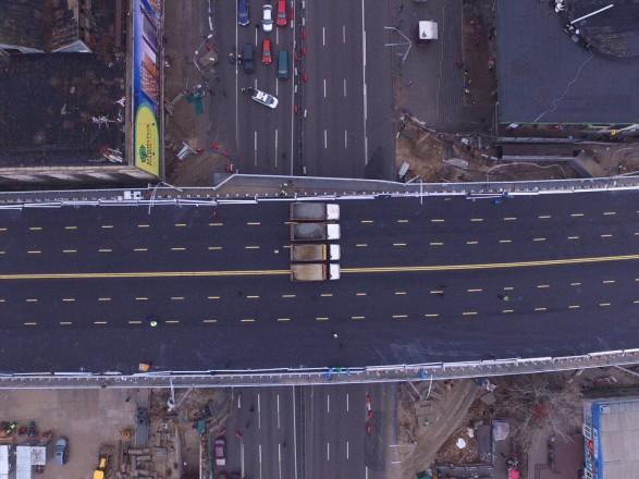 С завтрашнего дня на столичном Шулявском мосту ограничат движение транспорта