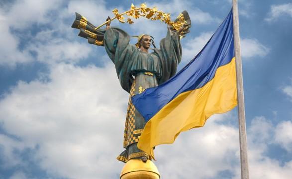 В КГГА показали на каком этапе находится установка наибольшего флага Украины