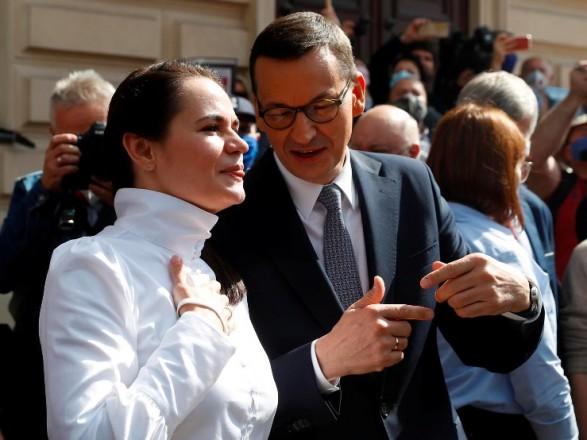 Премьер Чехии наложил вето на встречу Тихановской с членами саммита Вышеградской четверки
