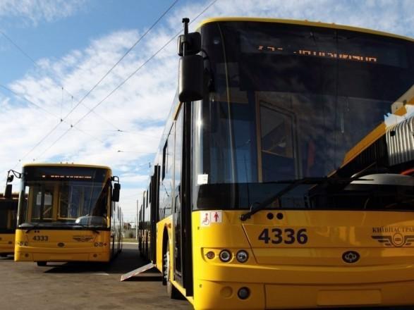 До конца года Киев получит 200 новых современных автобусов - Кличко