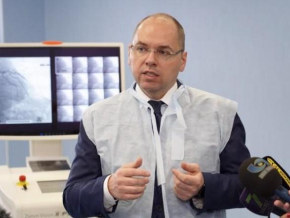 Степанов заявив, що лабораторіям МОЗ вистачає ПЛР-систем для проведення тестування