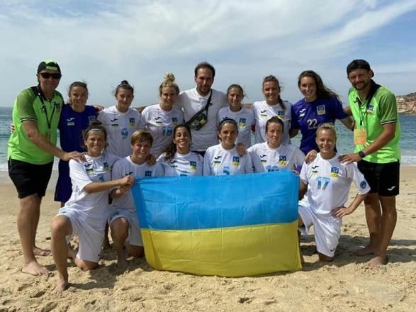 """Павелко поздравил """"Мрию-2006"""" с победой в женской пляжной ЛЧ"""