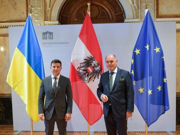 Донбасс и инвестиции: Президент Украины обсудил двусторонние отношения с главой австрийского парламента