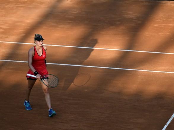 Теннисистка Ястремская второй раз победила в трехсетовом матче на турнире в Риме