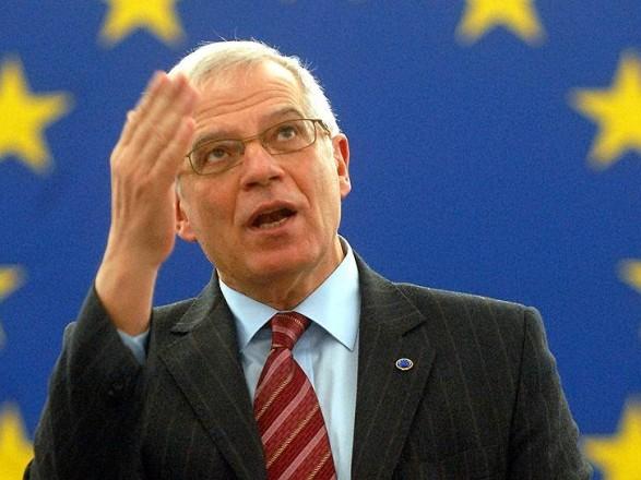 Главный дипломат ЕС посетит Украину 22 сентября