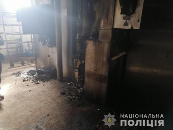 В Ровенской області неизвестные подожгли предпринимателю цех