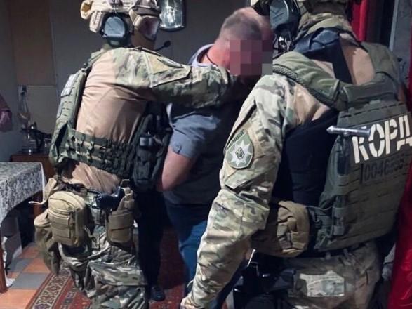 В Днепропетровской области во время спецоперации задержали вооруженную банду