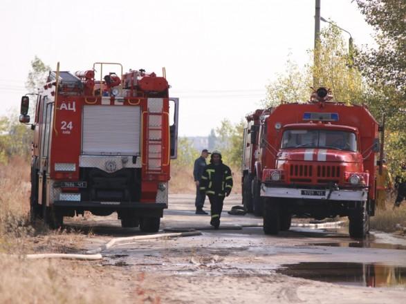 Пожар на свалке в Киеве до сих пор не погасили