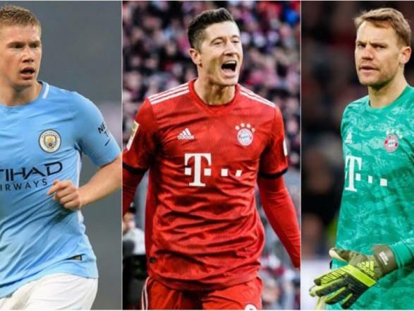 УЕФА объявил тройку претендентов на звание лучшего футболиста сезона
