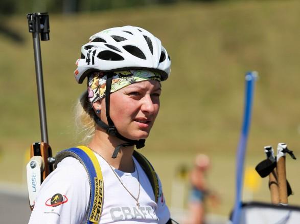 Известная украинская биатлонистка завершила спортивную карьеру