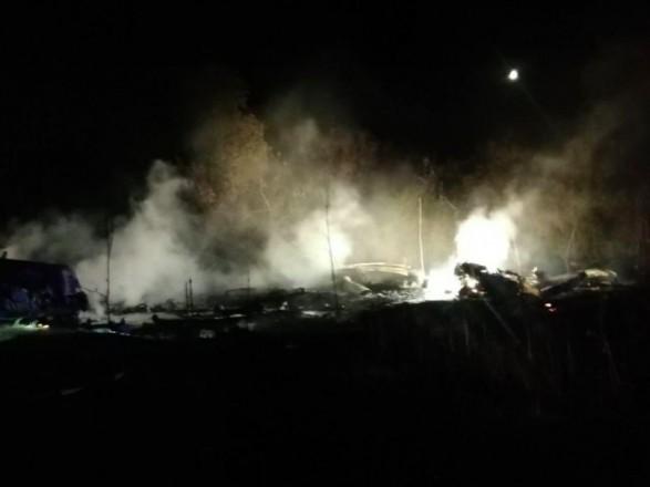Правительство создало комиссию по расследованию причин авиакатастрофы под Харьковом
