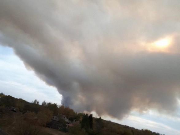 В Рязанской области РФ горят склады: ближайшие села эвакуируют