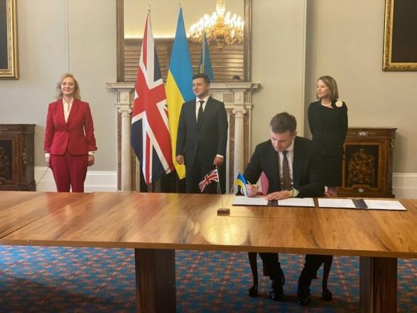 Офис Президента подвел итоги сделки с Лондоном: это новая глава в украинско-британских отношениях