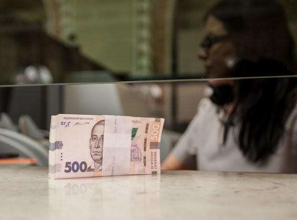Украинцы нарастили гривневые вклады в банках