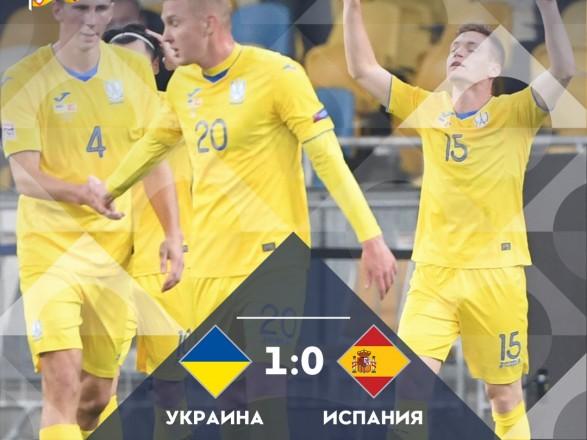 Гордимся: Зеленский поздравил сборную Украины по футболу с победой над Испанией