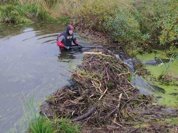 В реке во Львовской области нашли останки мужчины