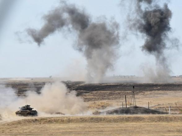 Украинские военные на границе с оккупированным Крымом тренируются обезвреживать диверсантов
