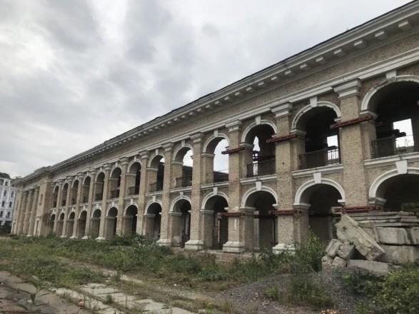 Фонд госимущества имущества должен провести противоаварийные работы на здании Гостиного двора - КГГА