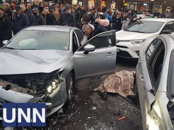 Смертельное ДТП на Майдане Независимости: водителя задержали